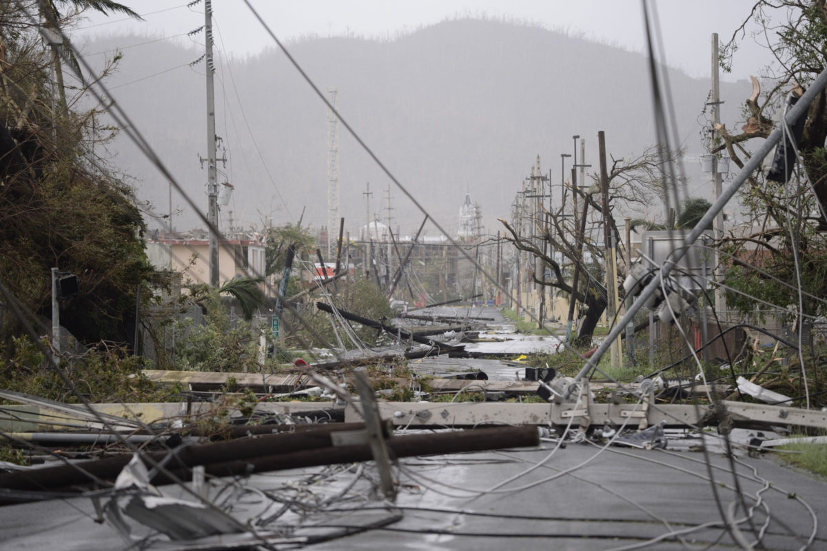 Comments on Puerto Rico's recovery after hurricane María